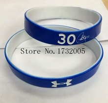 Free Shipping 50 pcs  Popular  Basketball Team  Wristband Silicone Promotion Gift Filled In Color Bracelet  Y-16