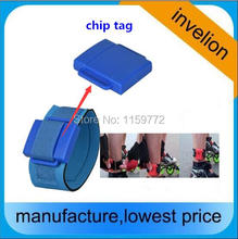 high performance 1-5m passive rfid tag uhf 860-960mhz PVC wristband and ankle waterproof timing chip for triathlon race