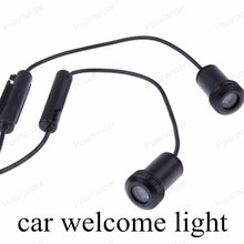 NEW High quality 2PCS/lot Led Auto Logo Emblem Laser Lamp LED Car Door Step Ghost Shadow Welcome Light Projector Lamp For GMC