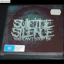 BINYEAE- new CD seal: Suicide Silence: You Can not Stop Me European version 2CD light disk [free shipping](China)