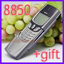 English Russian keyboard Original Nokia 8850 Mobile Phone Silver 2G GSM 900/1800 Unlocked 8850 Can't Use in USA(China)