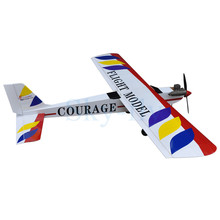 "RC plane model Balsa Wood Nitro Trainer Airplane ARF 4CH Courage-10 59.4""(China)"