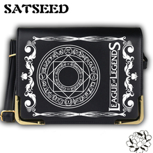League of Legends Crossbody Bags Gwiyomi Preppy Cartoon Shoulder Bags Cool Game Bags Anime