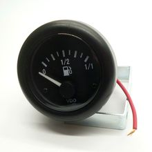 "New 24v Motorcycle Car Truck Gasoline Diesel Fuel Gauge Meter Oil Fuel Level Scale Indicator 2""/52mm(China)"