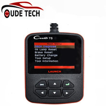 OBD II Code Reader Launch X431 Creader 7S OBD Code Reader with Oil Reset Function Creader 7 Plus Update Via Official Website