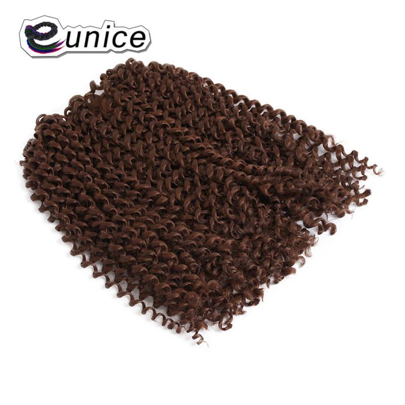 3 Bundleslot Fashion synthetic braiding hair 10inch Freetress Jerry Curl Crochet Braid  (47)
