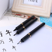 Special Offer New Soft Chinese Japanese Calligraphy Brush Ink Pen Students Practice Writing Drawing Tool Craft 3Pcs