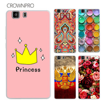 CROWNPRO DOOGEE X5 Case Cover Soft TPU Silicone DOOGEE X5 PRO Case Colorful Painting Phone Back Protector Case FOR DOOGEE X5