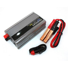 Car Auto Power supply 50HZ 24V DC to AC 220V Modified Sine Wave 1200W Inverter Converter USB Charger Adapter