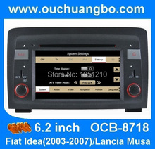 Ouchuangbo Autoradio gps radio sat navi for Idea 2003-2007 with can bus MP3 media player OCB-8718