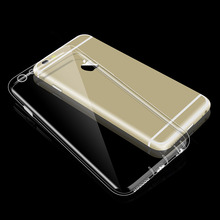 For Iphone 6 6S S Brand Phone Bag Case TPU 4.7 inch Cover Clear Case Coque Ultra Thin Dustproof Silicone For Iphone 6