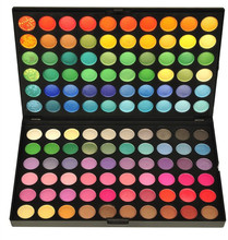 120 Color Fashion Eye shadow palette Cosmetics Mineral Make Up Makeup Eye Shadow Palette eyeshadow set 4 Style Color #M120#(China)