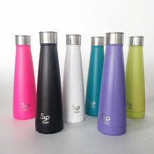 450ML/15OZ New Stainless steel metal drinking water bottle Swell sip BPA Free thermal insulation Sports bottle for water