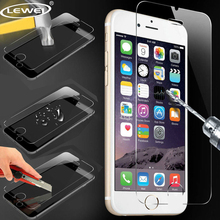 Buy LEWEI 9H Tempered Glass iPhone 5s 6s 0.26mm 2.5D Ultra Thin Explosion proof Screen Protector Film iPhone 7 8 8plus for $1.08 in AliExpress store