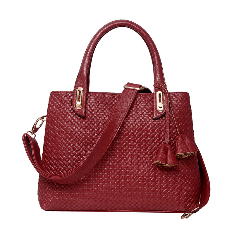 Brand Handbag Women Bags Classic Fashion England Style Handbags Women Shoulder Messenger Bag  Crossbody Bags Burgundy ST9226<br><br>Aliexpress