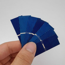 100pcs 52x19mm Polycrystalline Silicon solar cell for DIY solar panel DIY cells