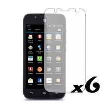 6 PCS Clear LCD Screen Protector Film Guard Cover Skin For AT&T for Huawei Tribute Y536(China)