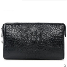 VV men clutch bag alligator leather business luxury large volume lock hand pull bag crocodile skin men bag(China)