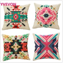 Modern Art Cushion Cover Holiday Pillow case Furniture decor fashion trendy color for hotel office seating TX122 45cm 18inch A3