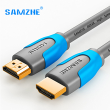 SAMZHE HDMI 2.0 Cable Pro,4K*2K 60Hz UHD HDMI to HDMI Cable for HD TV LCD Laptop PS3 Projector Computer Cable,PRO Series(China)