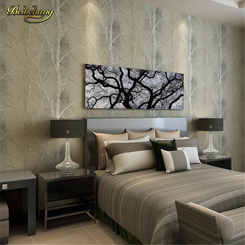 beibehang 3d wallpaper roll natural design tree Forest textured woods wall paper background wall home decor for papel de parede<br>