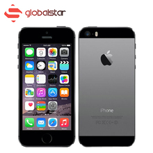 Unlocked Original Apple iPhone 5S Mobile Phone 1GB RAM 16GB ROM 8MP Touch ID Cell Phone 4.0 Inch iOS 5S Smartphone With Box