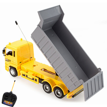 Interesting simulation RC Engineering truck Super power RC car model Dump truck Children's adult toys Boy birthday holiday gifts(China)