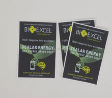 2017 new free shipping 100pcs/ lot bioexcel Anti radiation  Sticker For Cell Phone living power corporation energy sticker