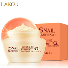 LAIKOU Natural Snail Essence Face Cream Moisturizing Anti-Aging Cream Anti Wrinkle Day Cream Multi-Effects Extract Face Care 50g