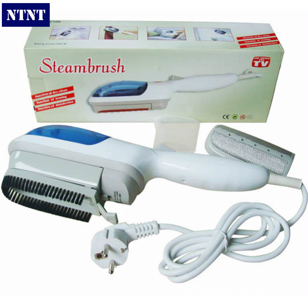 NTNT Free Post New Portable steam iron brush box hanging hot steam electric ironing machine with EU plug<br><br>Aliexpress