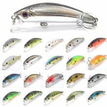 wLure 7.1g 8cm Fishing Lure Hard Bait Carp Fishing Fresh Water Insect Bait Fake Lure Fishing Jerkbait Minnow Crankbait M219