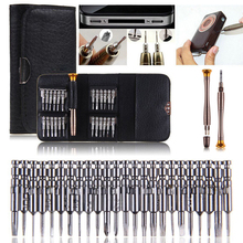 NEW 25in1 Precision Torx Screwdriver Set Wallet Type Cell Phone Repair Tool Kits For Phone Repair Tools