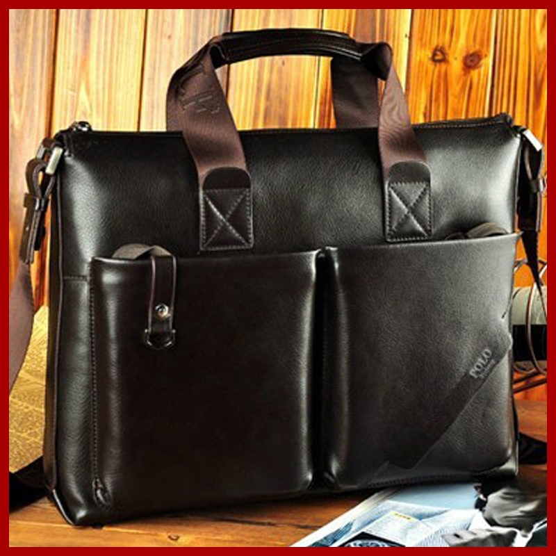 free shipping new POLO high quality men bag vitage men messenger bags top soft leather briefcase bag fashion mens travel bags<br>