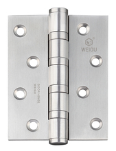 1 Pair of Stainless Steel Material Door Ball Bearing Hinge High Quality Color SS (4 inch*3 inch *3.0 mm)