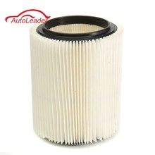 White Car Vacuum Cleaner Cartridge Filter Wet/Dry Vac For Craftsman /Ridgid 185mmx110mm