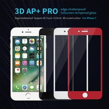Buy 0.23mm fully cover iphone 8 Anti-Explosion Touch Tempered Glass i7 Screen Protector Nillkin iphone 7 tempered glass for $14.99 in AliExpress store