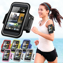 Running Sport Gym Armband Bag Case For HTC ONE M7/M8/M9/E8/M10/620/626w Waterproof Jogging Arm Band Mobile Phone Belt Cover