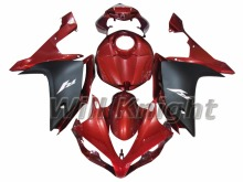 Injection Fairing Kit for Yahama YZF1000 YZF R1 2007 2008 ABS Injection Mold Red Black