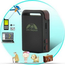 TK102B GPS Tracker with built in shake sensor Quad band Free PC GPS tracking system Mini GPS tracking device(China)