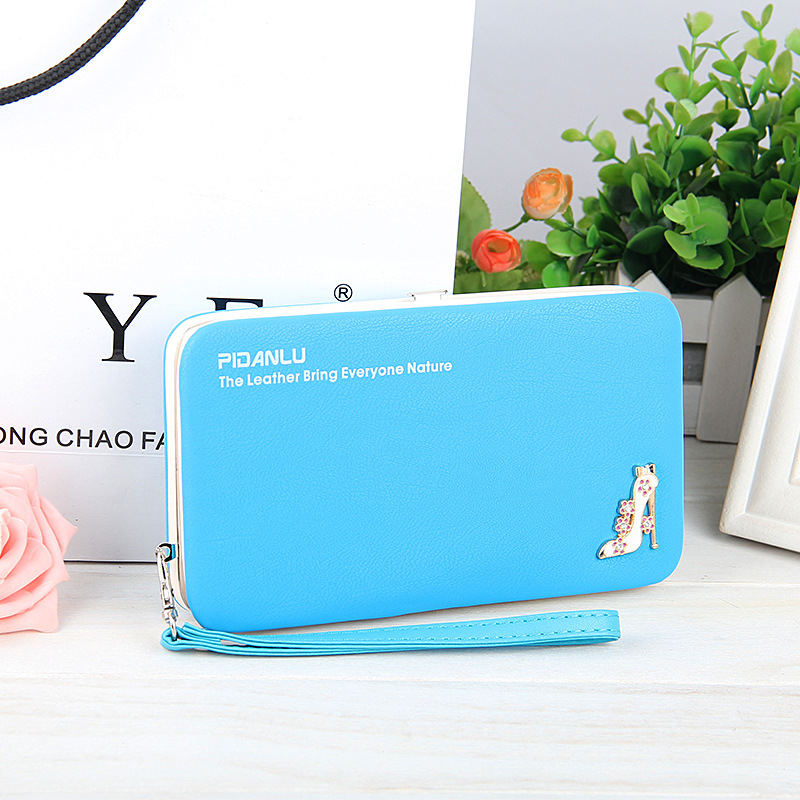 Wallet Purse Universal Phone Case Blue