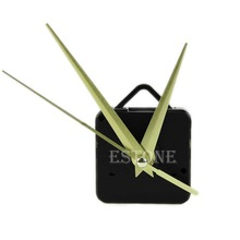 Free Shipping Quartz Clock Movement Mechanism Hands DIY Repair Parts Kit