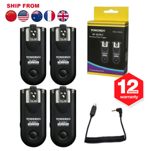 4 x Yongnuo RF-603 II N3 RF603 Wireless Flash Trigger Transceiver For Nikon Camera D90 D5000 D5100 D7000 D3100(Hong Kong)
