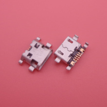 20X micro usb Jack socket connector for Sony Ericsson R800 Z1 Z1i for BlackBerry 9800 charging port mobile phone(China)