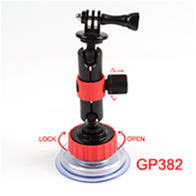 Orange Car Suction Cup Mount Car Window Glass Sucker For Gopro Mount Screw For Gopro Accessories camera sj4000 wifi Accessories
