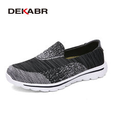 DEKABR Running Shoes Light Air Mesh Outdoor Sports Breathable Jogging Sneakers For Men Athletic Newest Trend Shoes Size 35-44