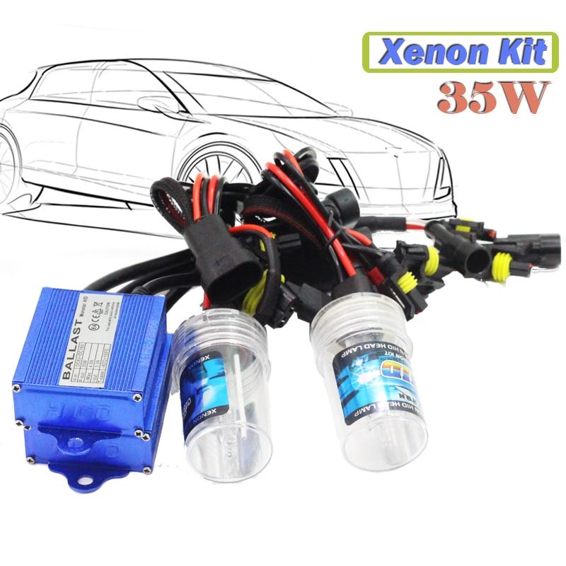 H3 35W Conversion HID XENON KIT Ballast Bulb 3000K-15000K DC Car Headlight Fog Lamp Daytime Running Light<br><br>Aliexpress