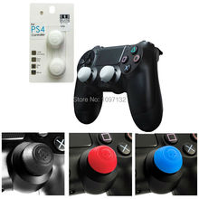 2PCS=1Pair CQC Skull Head Joystick Caps for PS4 Controller for Dualshock4 Gamepad Video Game Accessories(China)