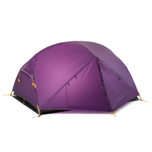 Naturehike Mongar 2 Camping Tent Double Layers Waterproof 3 Season Ultralight Dome Tent for 2  Person