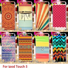 Soft TPU Cases For Apple iPod Touch 5 5th 5G touch5 Case Special Painted Hard Cell Phone Cover Housings Bags Sheaths Skins Hoods