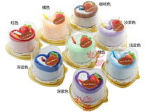 Free Shipping(6sets/lot),Cake Towels, Creative Wedding Party Gift , Birthday Gifts,Advertising Gifts,Heart Shaped Towels